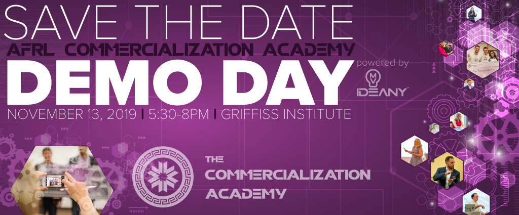 Save the Date Demo Day