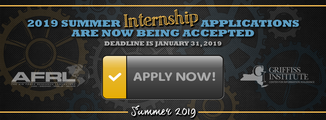 Apply today for the 2019 internship program