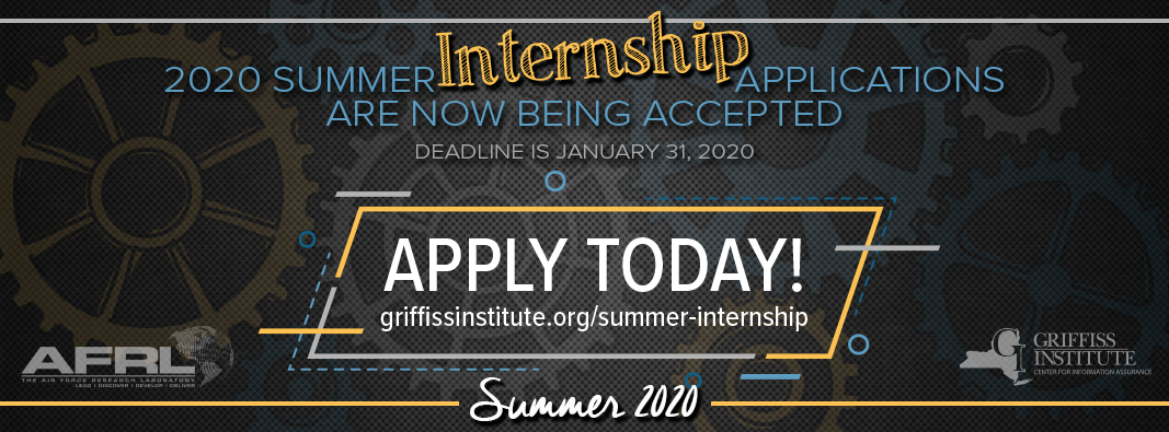 Intern Summer 2020.Summer Internship Program At The Information Directorate Of