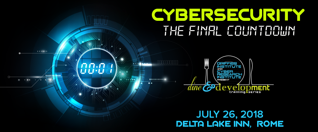 Dine and development training series Cybersecurity The Final Countdown