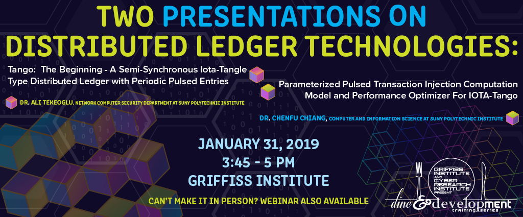 Two Presentations on Distributed Ledger Technologies