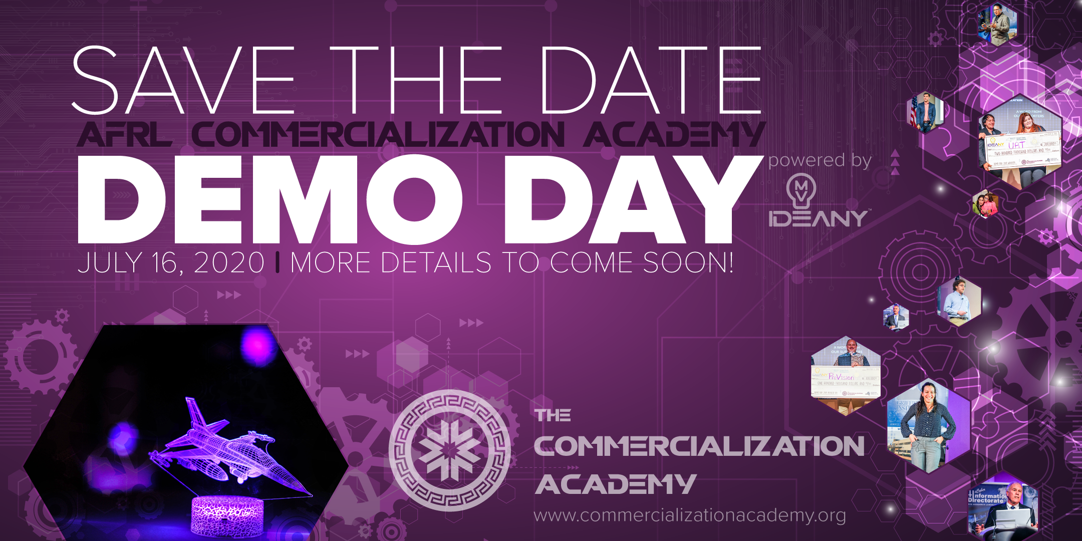 Save the Date! Demo Day is July 16, 2020