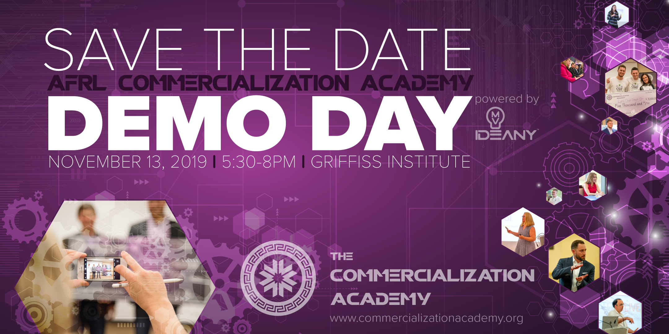 Fall 2019 AFRL Commercialization Academy Demo Day