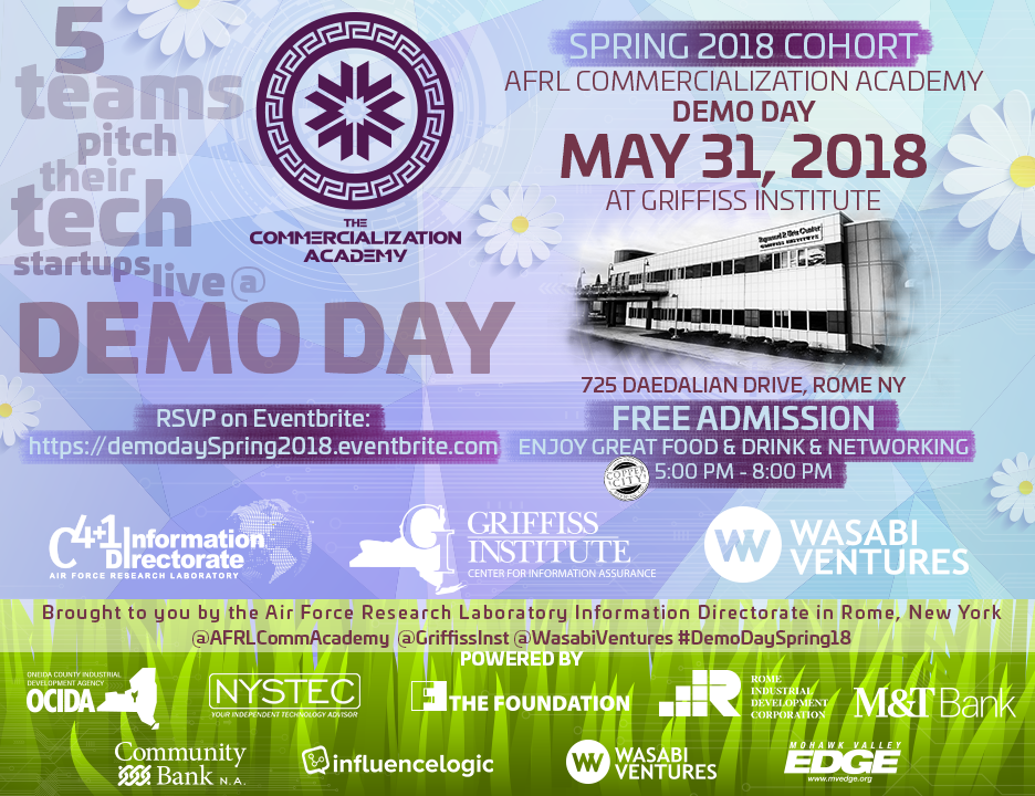 2018 Spring Commercialization Academy Demo Day