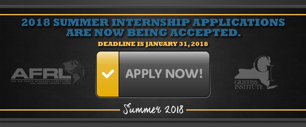 Summer Internship Program at the Information Directorate of the AFRL