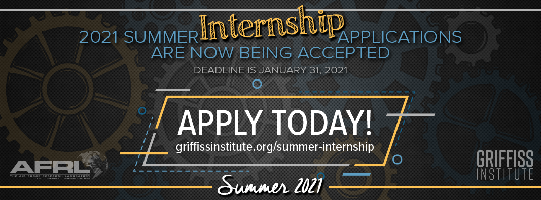 2021 summer intern applications now being accepted