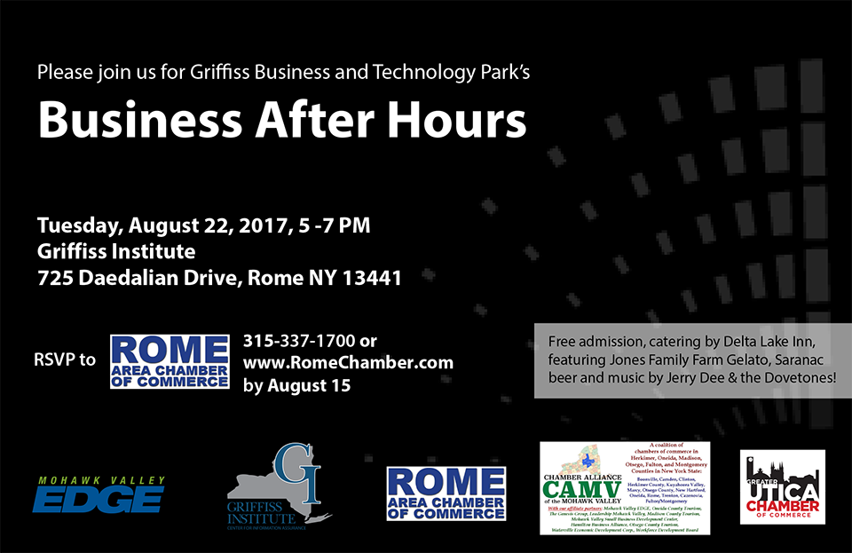 Griffiss Business & Technology Park's Business After Hours