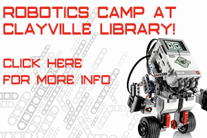 Robotics Camp at Clayville Library